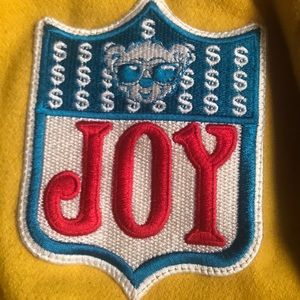 Joy Rich letterman jacket